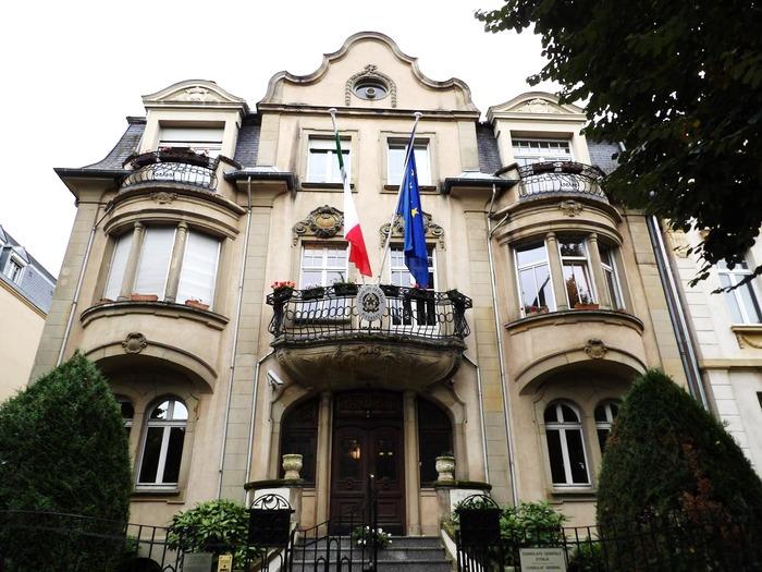 Journées du patrimoine 2019 - Visites guidées au Consulat d'Italie