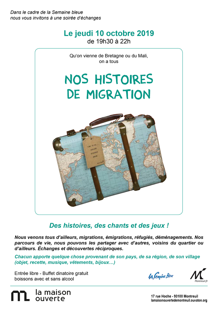 Nos histoires de migrations