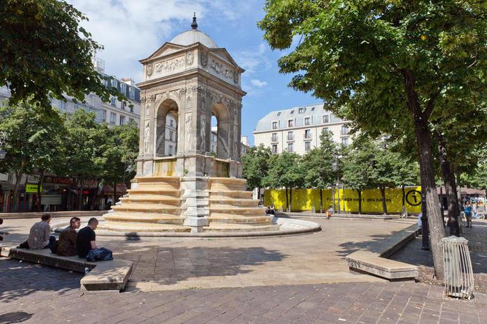Journées du patrimoine 2020 - Visites guidées des fontaines de Paris rive droite