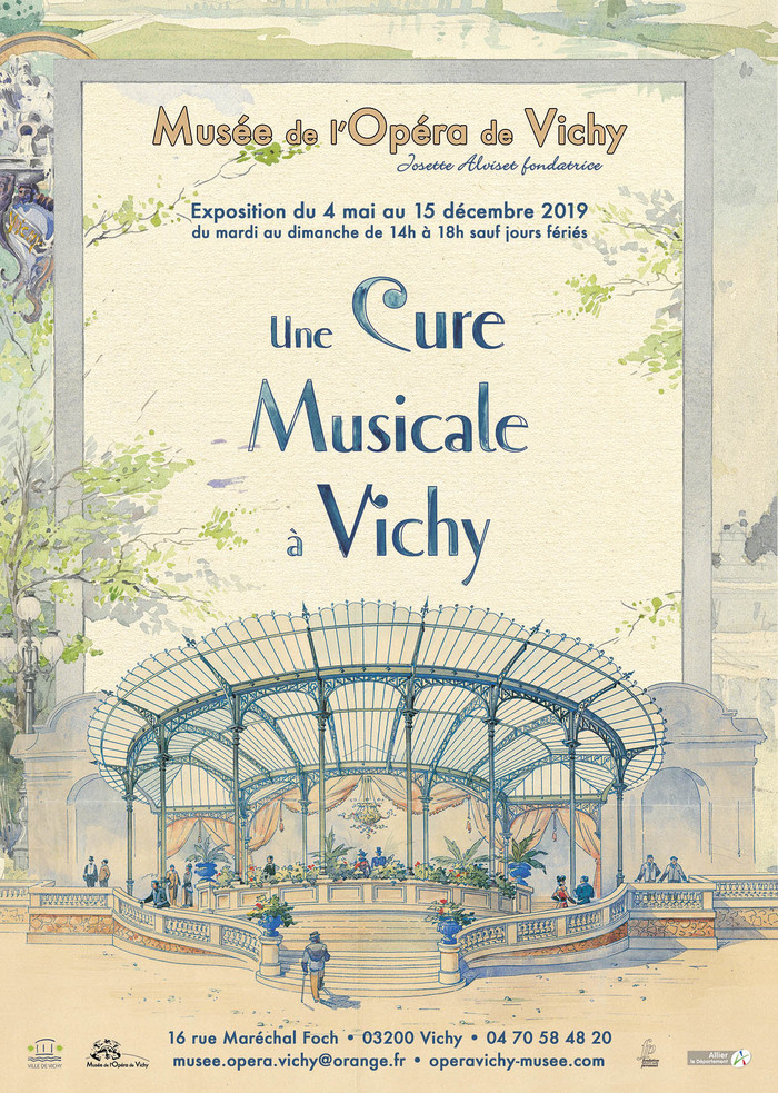 Journées du patrimoine 2019 - Une cure musicale à Vichy