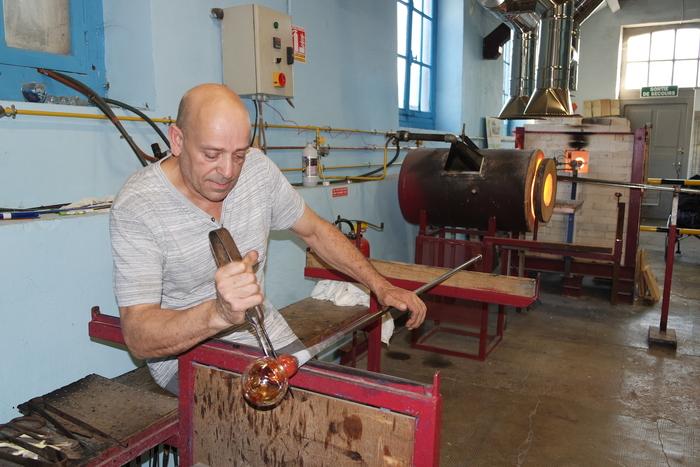 Journées du patrimoine 2019 - Démonstrations de soufflage de verre à l'Atelier du Verre de Bayel