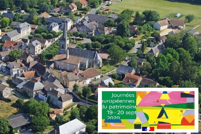 Journées du patrimoine 2020 - Le bourg de Chenevelles