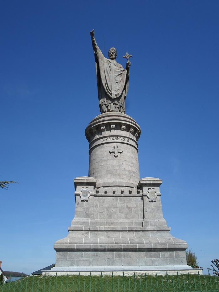 Journées du patrimoine 2019 - Visite commentée de la statue Urbain II