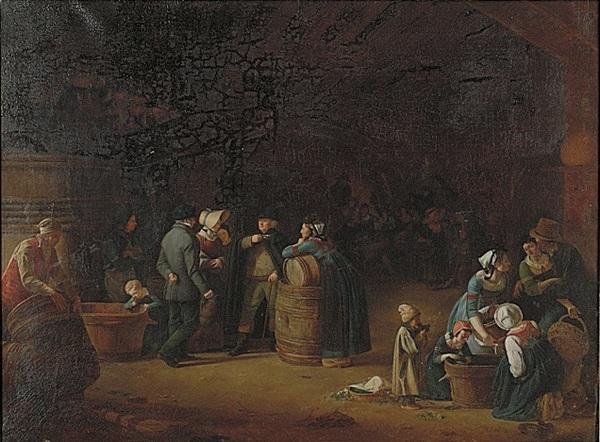 Nuit des musées 2019 -15 minutes, 1 oeuvre : Propriétaire visitant son chai à Mâcon par Pierre-Victor Olagnon