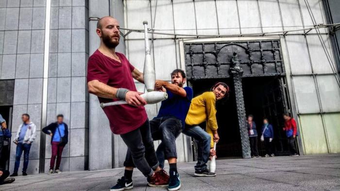 Journées du patrimoine 2020 - Annulé | Spectacle de jonglerie en déambulation
