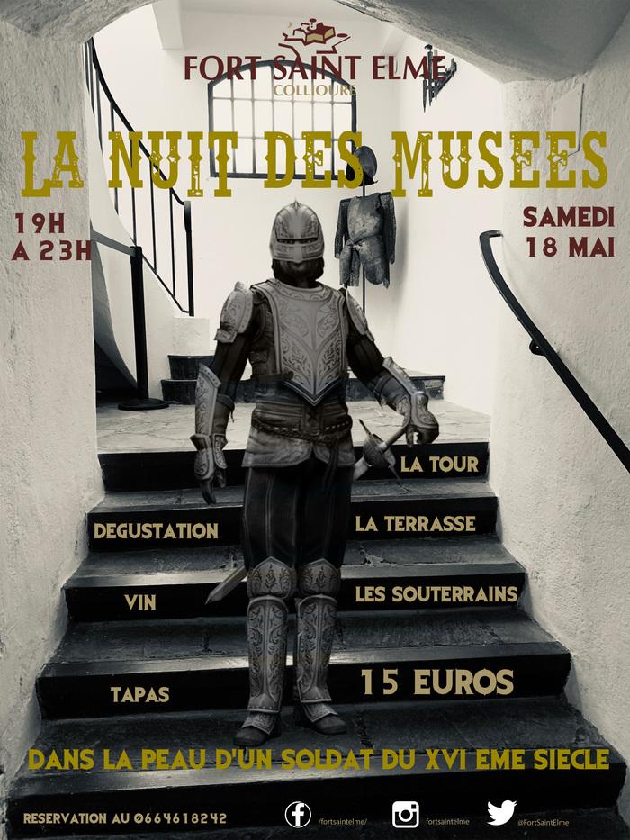 Nuit des musées 2019 -Visite totale du Fort Saint Elme