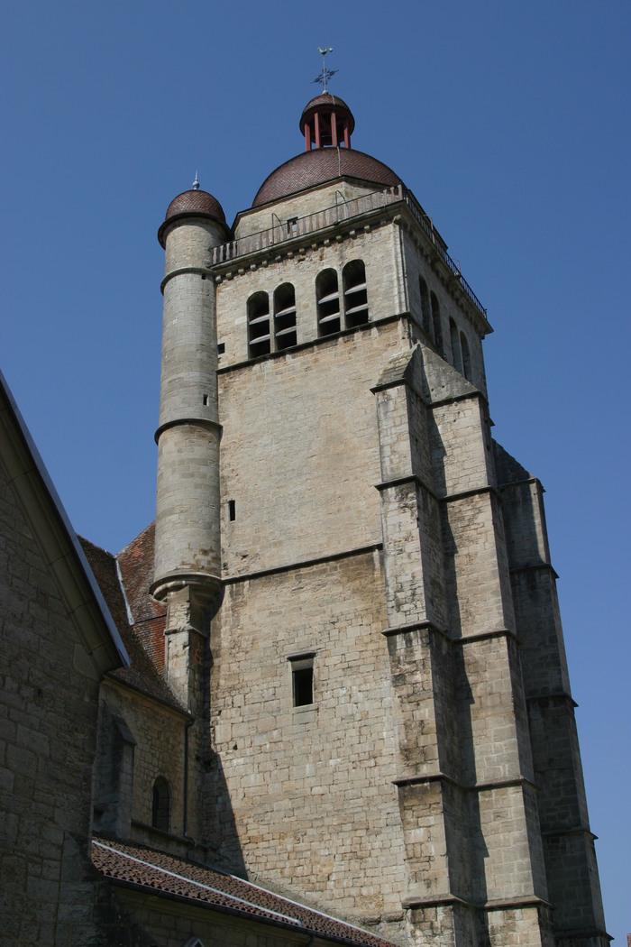 Journées du patrimoine 2019 - Montée au clocher de la Collégiale Saint-Hyppolite