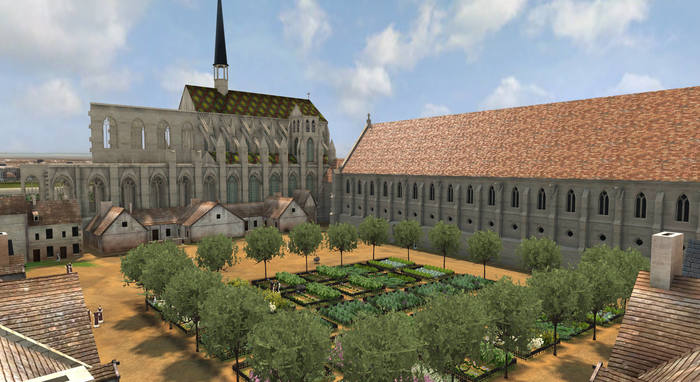 Journées du patrimoine 2019 - Visites interactives avec projection 3D