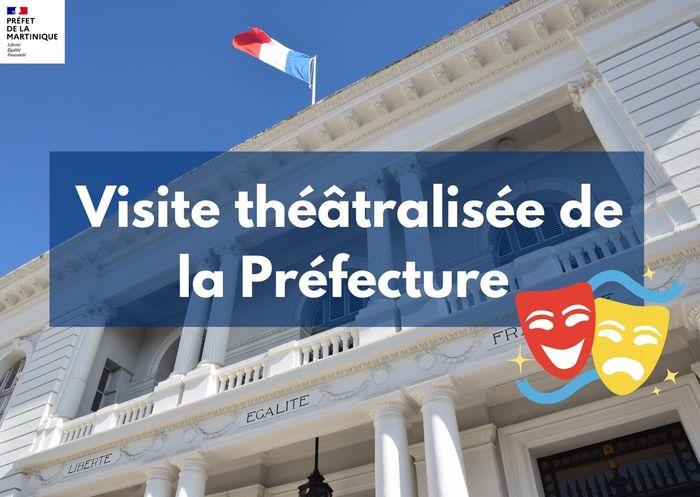 Journées du patrimoine 2020 - FdF / Visite théâtralisée de la préfecture
