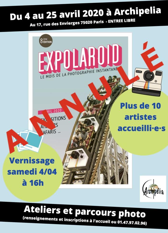 Expolaroid 2020-Paris/Belleville