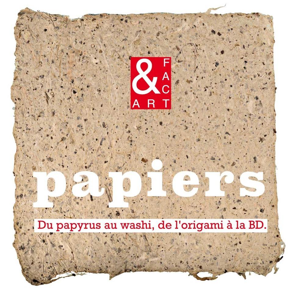 Spt artistes d'ART&FACT proposent une exposition sur des supports papiers constitutifs du livre depuis l'antiquité.