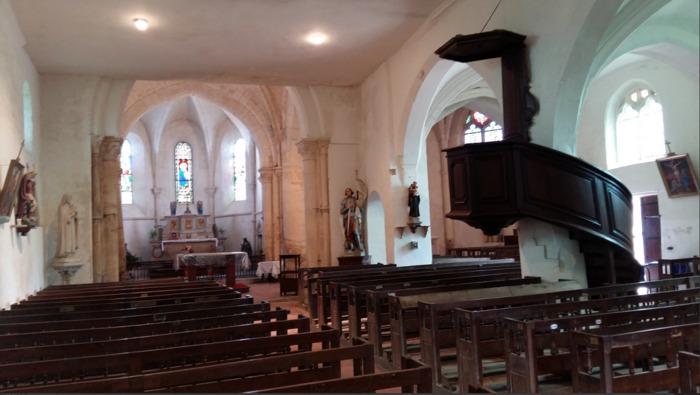 Journées du patrimoine 2020 - Visite guidée de l'église de Longeville-sur-la-Laines (Rives dervoises)