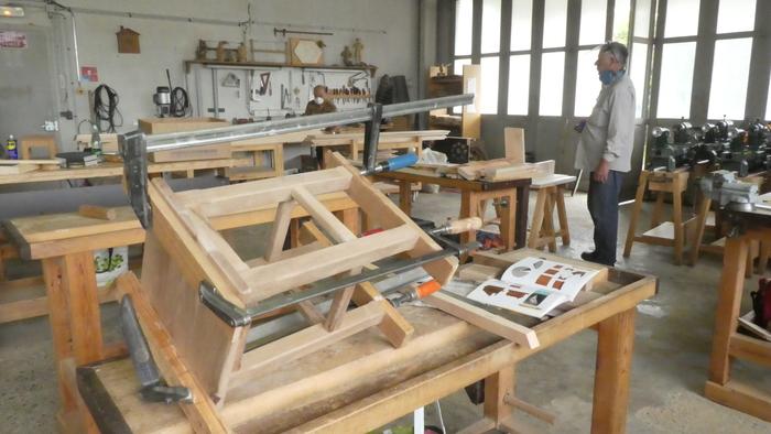 Journées du patrimoine 2020 - Portes ouvertes atelier bois démonstrations & exposition Sculpture Tournage Marqueterie