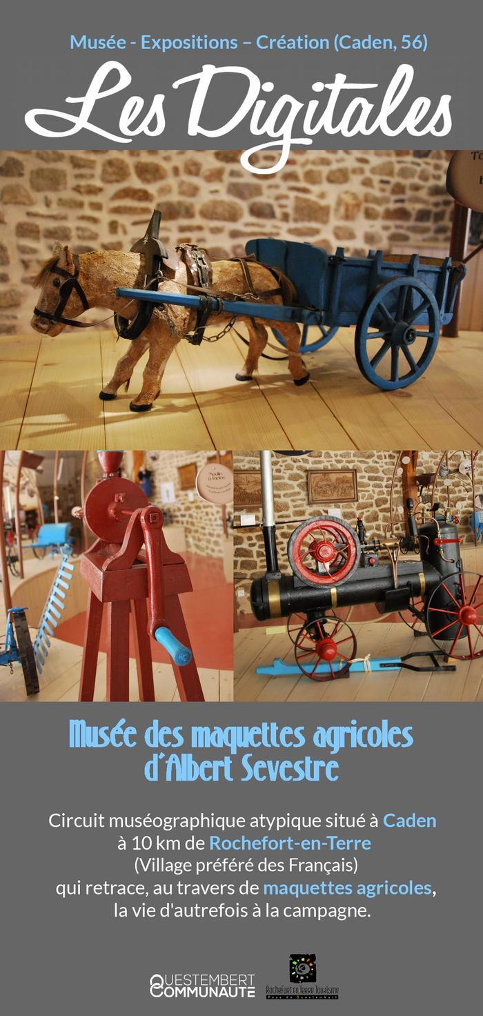 Journées du patrimoine 2020 - Visite libre du Musée des maquettes agricoles de Monsieur Sevestre