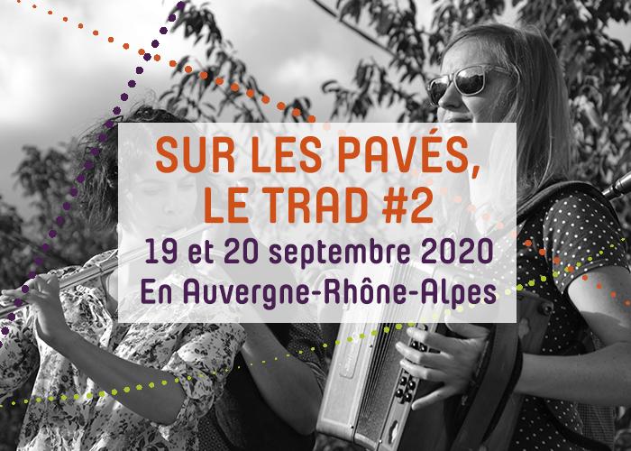 Journées du patrimoine 2020 - Sur les pavés, le trad #2 - Concert collectif et session irlandaise