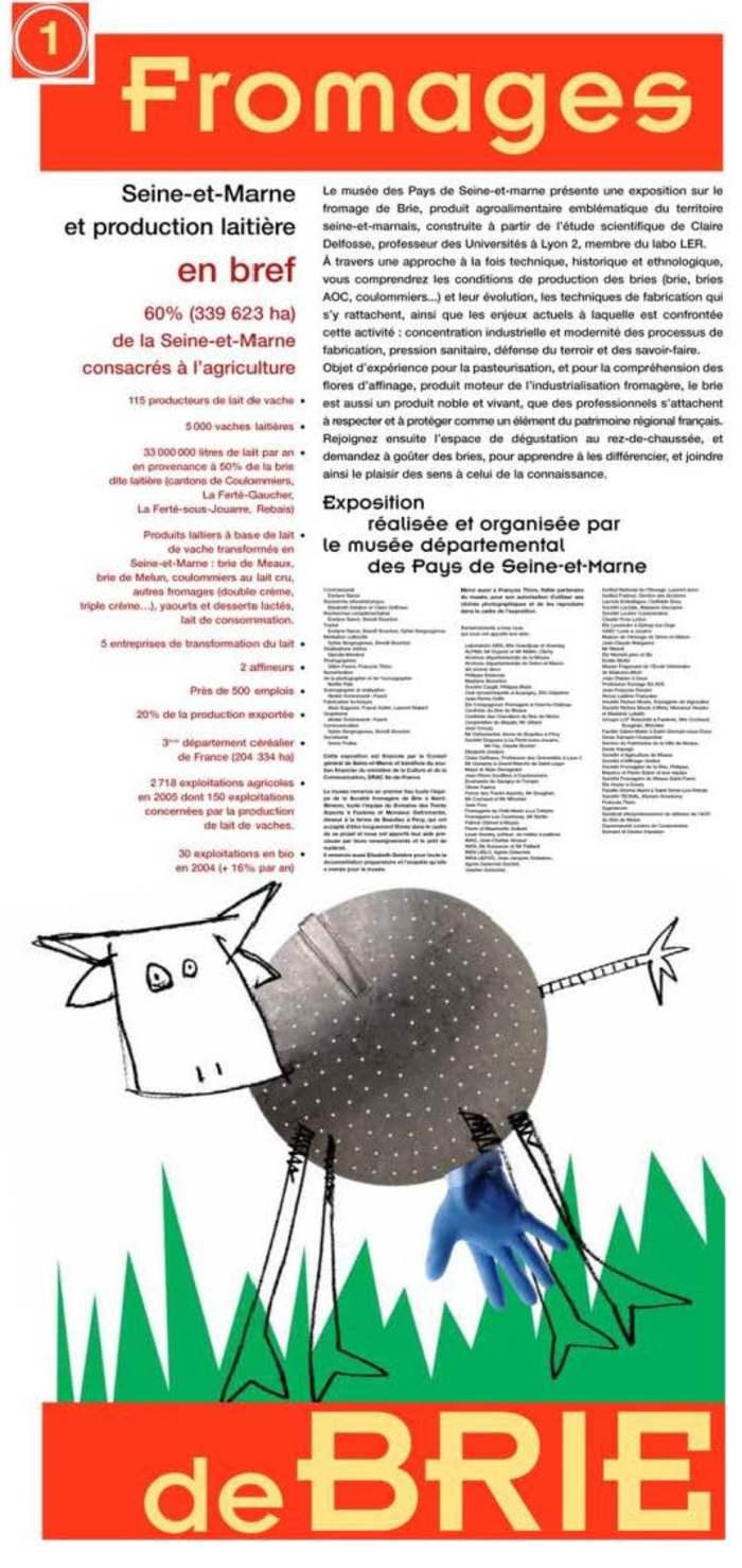 Journées du patrimoine 2020 - Exposition Fromages de Brie