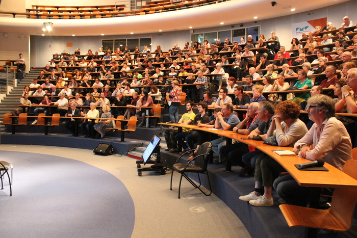 Conférence de Ursula BASSLER, Présidente du Conseil du CERN.