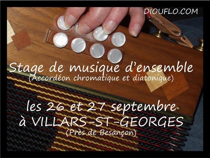 Stage - musique d'ensemble