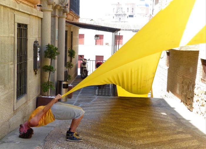 Journées du patrimoine 2020 - Street Pantone, danse-installation patrimoniale de Gilles Viandier