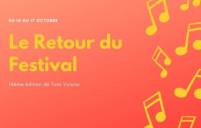 Le Festival Tons Voisins retrouvera son fidèle public du 14 au 17 octobre 2020 avec une programmation axée sur le compositeur Beethoven.