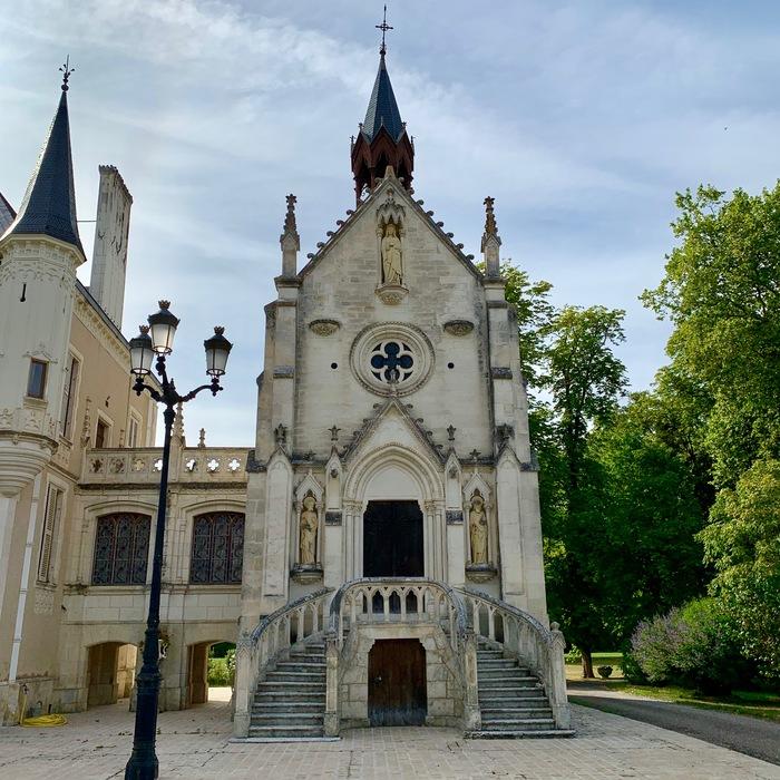 Journées du patrimoine 2019 - Ouverture pour la première fois au public de la chapelle du château