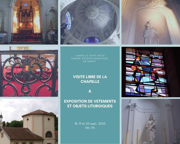 Journées du patrimoine 2020 - Exposition de vêtements et objets liturgiques à la Chapelle Saint-Roch
