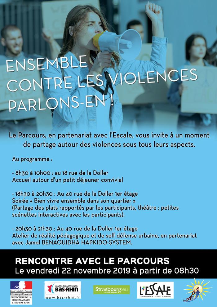 ENSEMBLE CONTRE LES VIOLENCES, parlons-en !