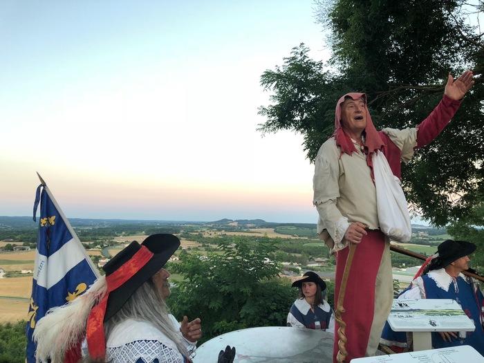Journées du patrimoine 2020 - Visite de la bastide de Monflanquin avec Janouille la fripouille !