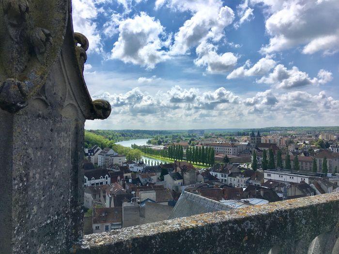 Journées du patrimoine 2020 - Montée au clocher de l'église Saint-Aspais de Melun.