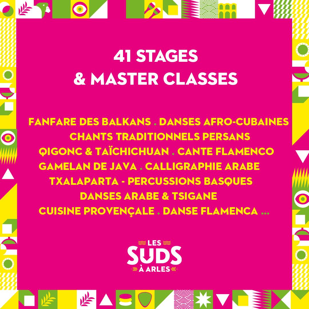 Le Festival les Suds à Arles vous invite du 12 au 17 juillet à partager le plaisir de jouer, danser, se relaxer ou chanter ensemble autour de disciplines du monde entier !