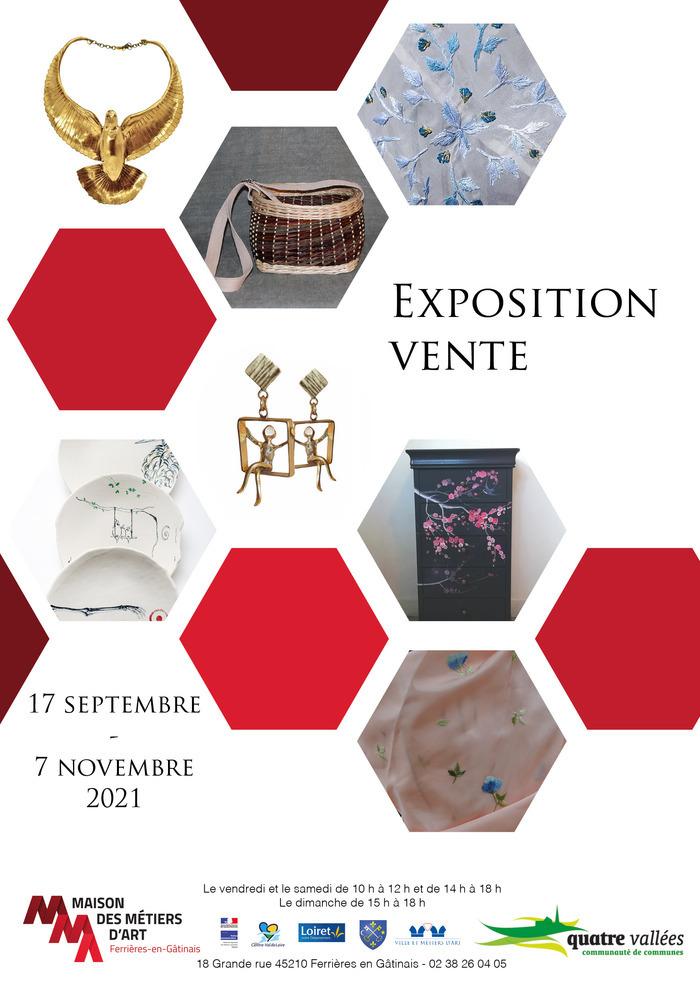 Réalisée en partenariat avec les artistes et les artisans d'art du Gâtinais, cette exposition vous présente divers métiers au travers de pièces uniques.         Venez découvrir les  métiers fascinants  tel...