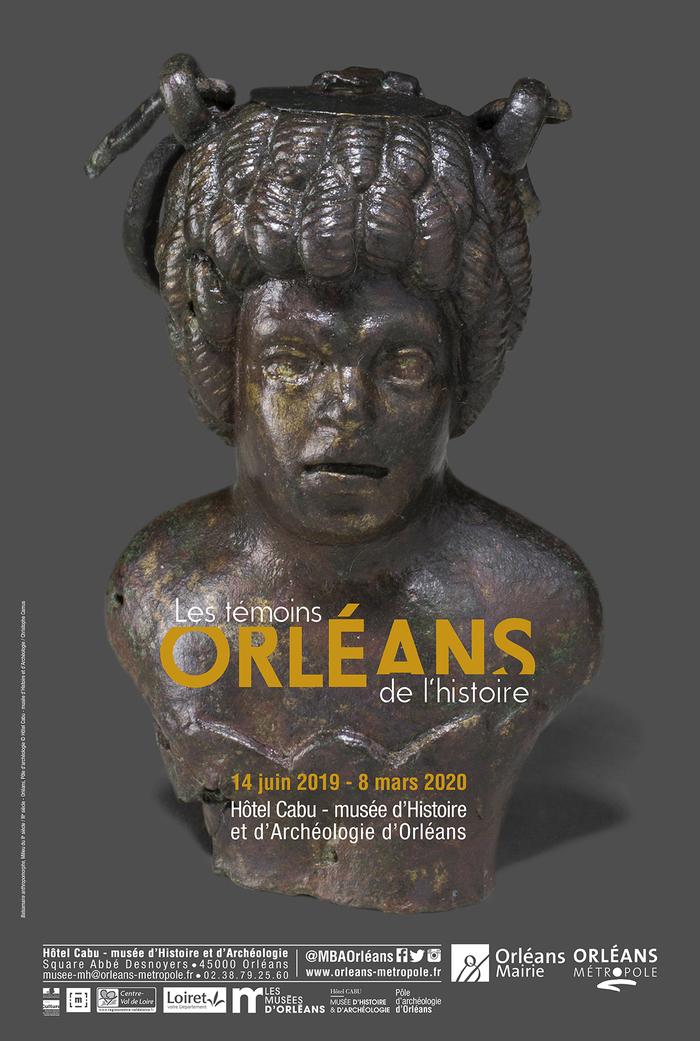 Journées du patrimoine 2019 - Exposition : les témoins de l'histoire, 20 ans de découvertes archéologiques à Orléans