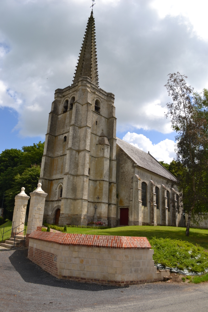 Journées du patrimoine 2020 - Visite guidée de l'Église d'Hermaville