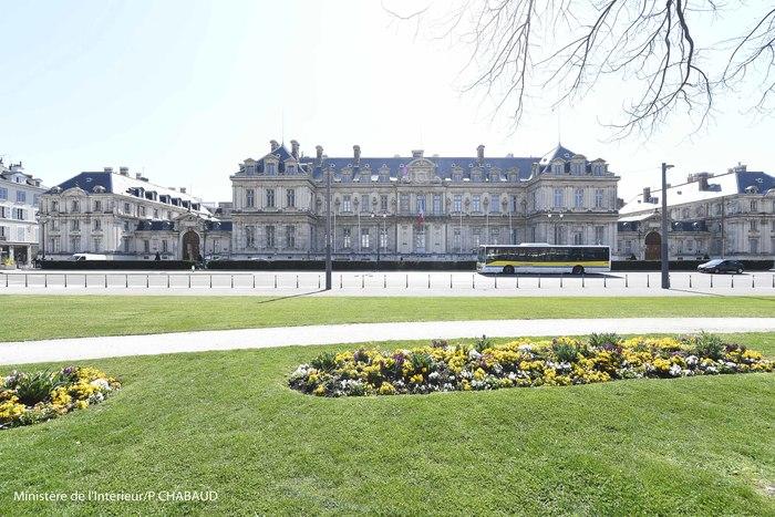 Journées du patrimoine 2019 - Visite des salons de réception de la préfecture de l'Isère.