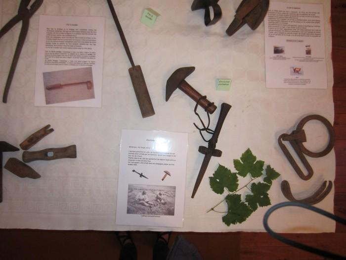 Journées du patrimoine 2020 - Exposition d'outils agricoles anciens