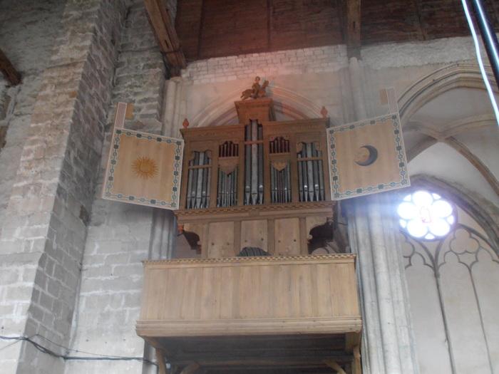 Journées du patrimoine 2020 - Visitez l'orgue Renaissance de Saint-Julien-du-Sault