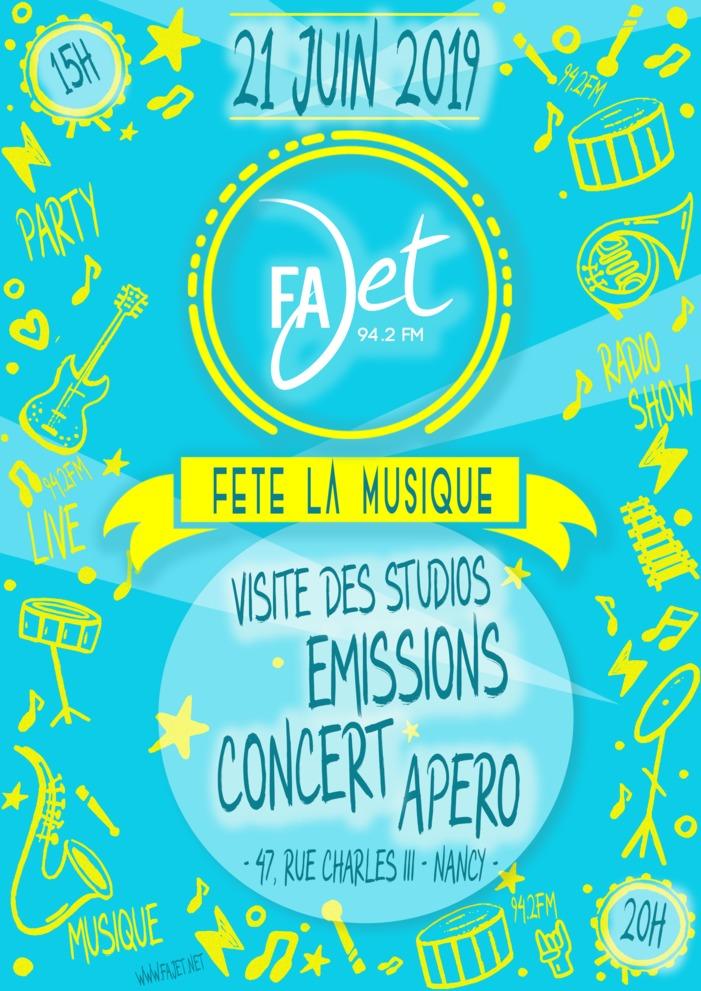 Fête de la musique 2019 - Radio FaJeT - Studios Ouverts / Emissions en public / Concerts