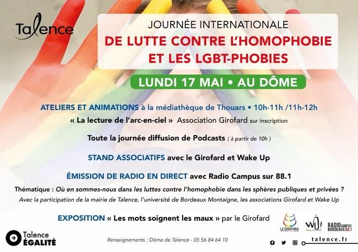 Journée internationale de lutte contre l'homophobie et les LGBTphobies