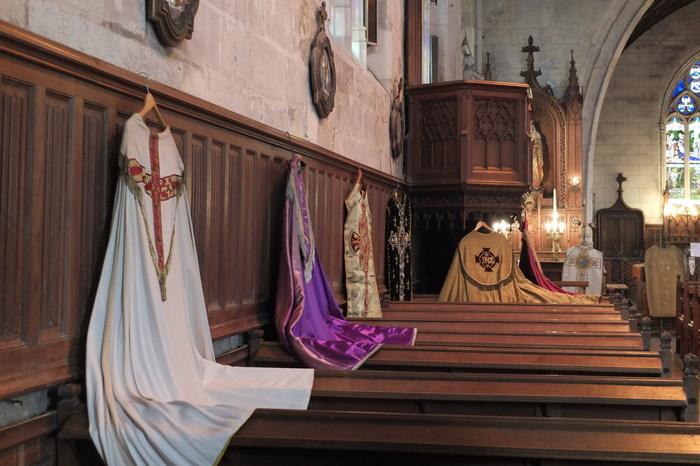 Journées du patrimoine 2019 - Exposition de vêtements liturgiques