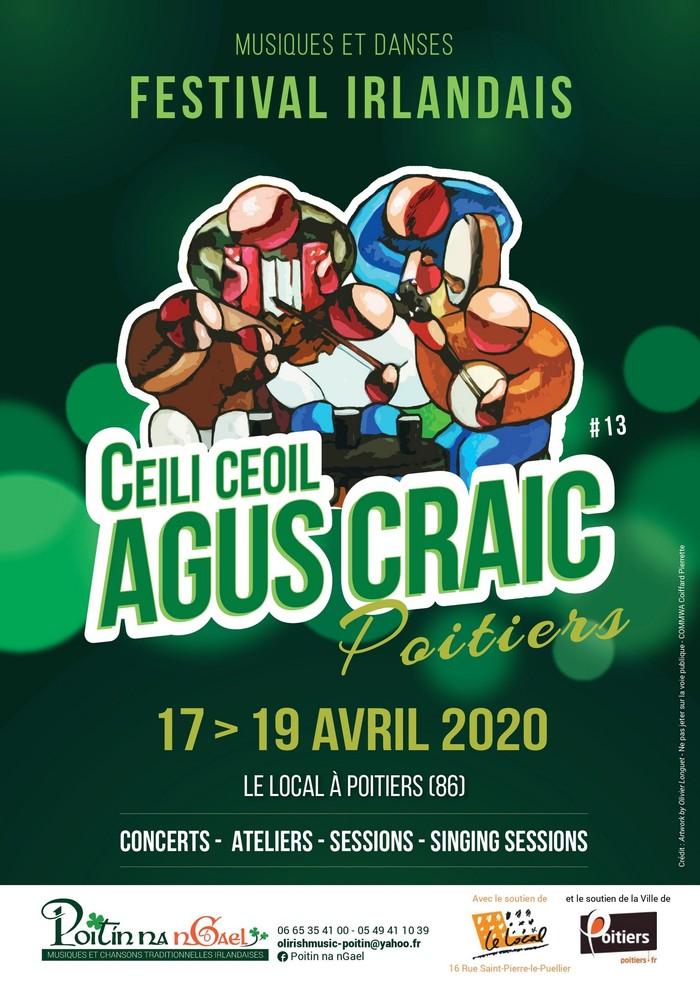 [ANNULE]  <strike>Festival Irlandais Poitiers</strike>