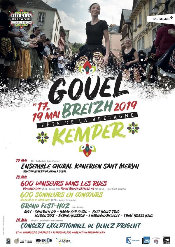 Denez Prigent en concert exceptionnel à la cathédrale Saint-Corentin - COMPLET