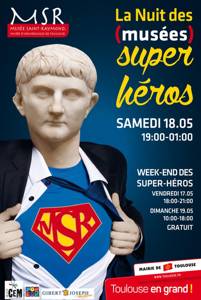 Nuit des musées 2019 -Nuit des super-héros