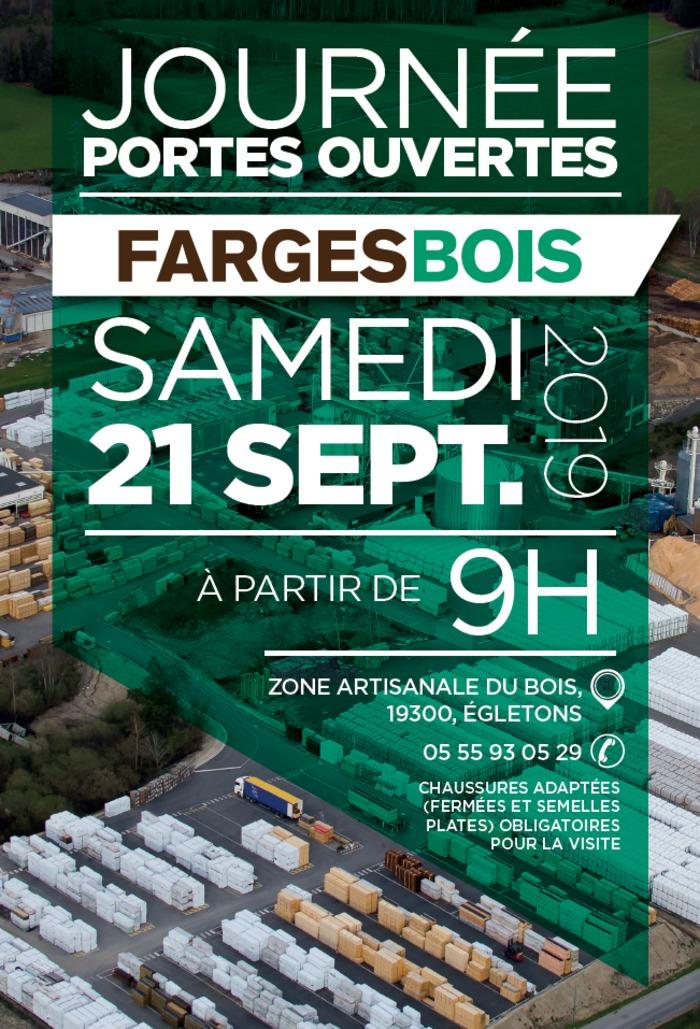 Journées du patrimoine 2019 - Visite guidée de Fargesbois, une industrie du bois au cœur du massif Limousin