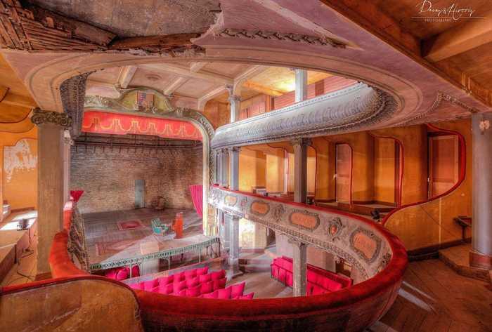 Journées du patrimoine 2020 - Visite virtuelle du chantier de restauration du Théâtre des Bleus de Bar