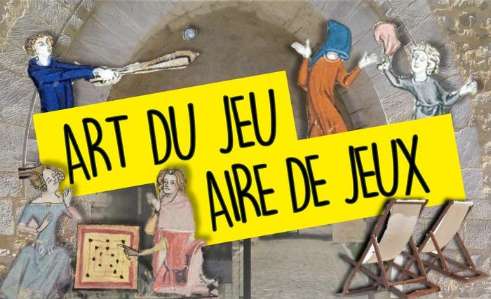 Journées du patrimoine 2019 - Art du jeu - Aire de jeux