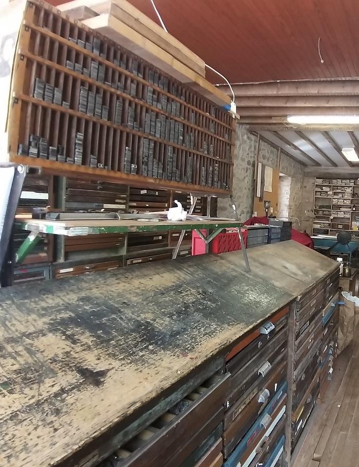 Journées du patrimoine 2020 - Visite de l'Imprimerie-Charcuterie
