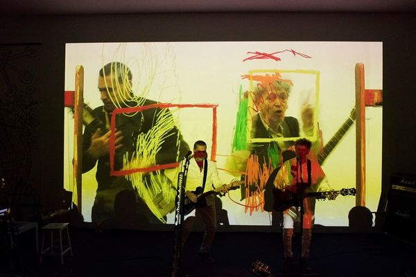 Nuit des musées 2019 -Concert de Robert Combas et des Sans Pattes