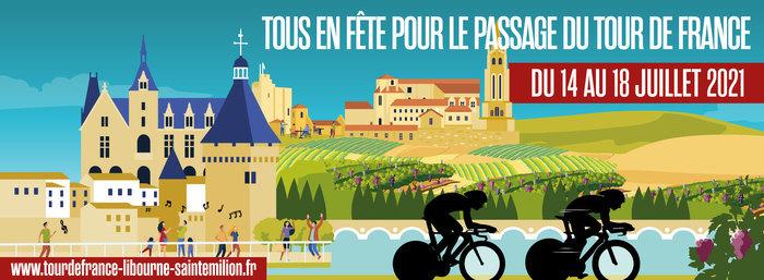 Deux étapes du Tour de France