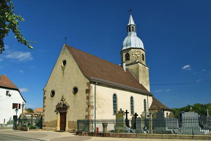 Journées du patrimoine 2020 - Visite de l'église Sainte-Agathe