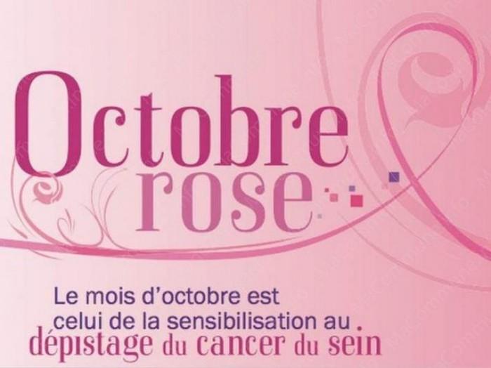 Dans le cadre de octobre rose